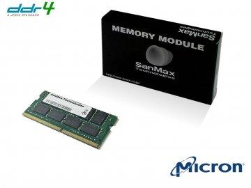 SMD4-S8G48M-24R D4-SO 2400 8Gx1 C17 MT 01 PCパーツ SanMaxPC用メモリー ノート用