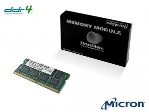 SMD4-S16G48M-26V ノート用 DDR4 16GB シングル 2Rank