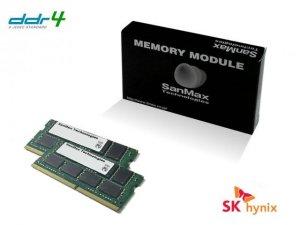 SMD4-S16G48H-26V-D ノート用 DDR4-2666 16GB(8GBx2枚組) 1RANK デュアルセット