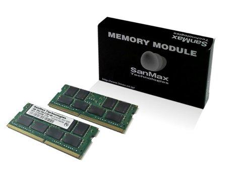 SMD4-S64G88M-26V-D D4SO 2666 32GBx2 CL19 01 PCパーツ SanMaxPC用メモリー ノート用
