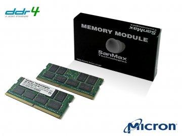 SMD4-S64G88M-29Y-D D4S 2933 32GBx2 CL21 01 PCパーツ SanMaxPC用メモリー ノート用