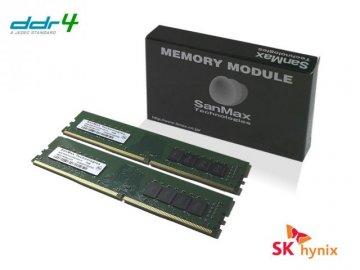 SMD4-U32G48H-32AA-D 3200 16Gx2 2R SKhyn 01 PCパーツ SanMaxPC用メモリー デスクトップ用