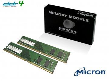 SMD4-U8G26M-24R-D D4 2400 4GBx2SET Micro 01 PCパーツ SanMaxPC用メモリー デスクトップ用