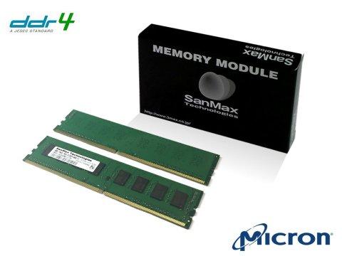 SMD4-U16G48M-24R-D D4 2400 8Gx2 C17 1R 01 PCパーツ SanMaxPC用メモリー デスクトップ用