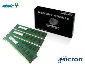 SMD4-U32G48M-24R-Q デスクトップ用 DDR4 32GB(8GBx4枚組) QUADセット 1RANK