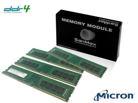 SMD4-U64G48M-26V-Q D4 2666 16Gx4 C19 MT 01 PCパーツ SanMaxPC用メモリー デスクトップ用
