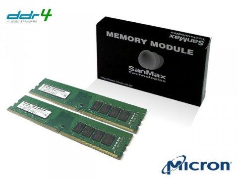 SMD4-U32G48M-32AA-D D4 3200 16Gx2 C22 MT 01 PCパーツ SanMaxPC用メモリー デスクトップ用