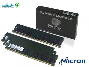 SMD4-E32G48M-24R-Q D4 2400 8GBx4 U-ECC 01 PCパーツ SanMaxPC用メモリー サーバー用