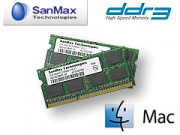 [Mac]SMM-N8G-1333TD DDR3SO-1333 4GBx2 01 PCパーツ SanMaxPC用メモリー Apple   Mac用