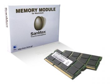 [Mac]SMM-N16G-1333TD DDR3SO-1333 8GBx2 01 PCパーツ SanMaxPC用メモリー Apple | Mac用