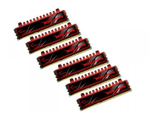 F3-12800CL9T2-24GBRL DDR3-1600 4GB*6 CL9 01 PCパーツ PCメモリー デスクトップ用