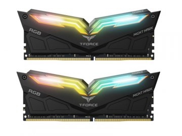 TF1D416G3000HC16CDC01 DDR4-3000 8GBx2 BK 01 PCパーツ PCメモリー デスクトップ用