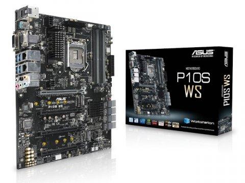 ASUS P10S WS 01 PCパーツ マザーボード   メインボード Intel用メインボード