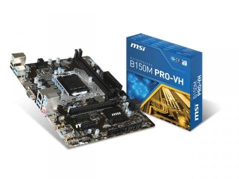 MSI B150M PRO-VH 01 PCパーツ マザーボード   メインボード Intel用メインボード