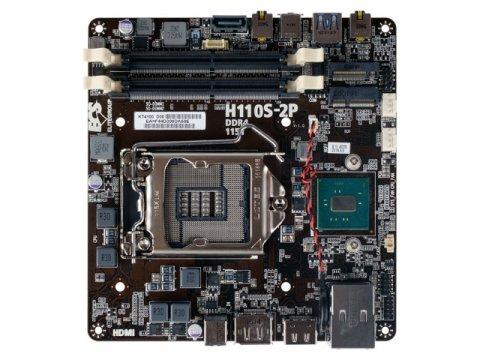 ECS H110S-2P 01 PCパーツ マザーボード   メインボード Intel用メインボード