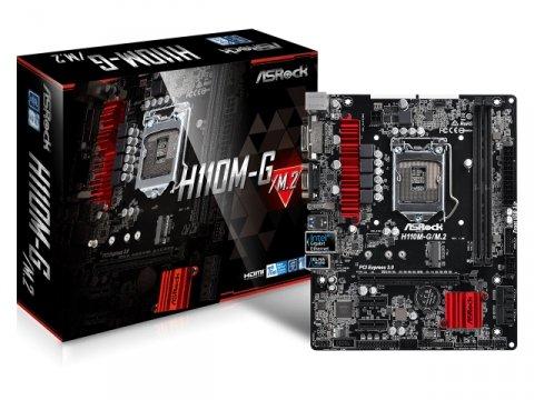 ASRock H110M-G/M.2 01 PCパーツ マザーボード | メインボード Intel用メインボード