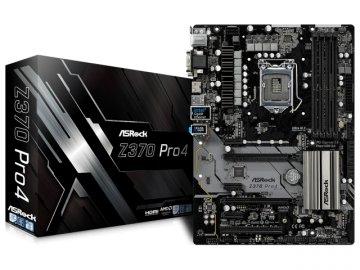 ASRock Z370 Pro4 01 PCパーツ マザーボード | メインボード Intel用メインボード