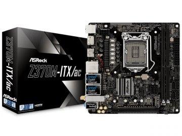 ASRock Z370M-ITX/ac 01 PCパーツ マザーボード | メインボード Intel用メインボード