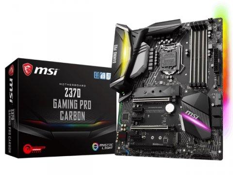 MSI Z370 GAMING PRO CARBON 01 PCパーツ マザーボード   メインボード Intel用メインボード