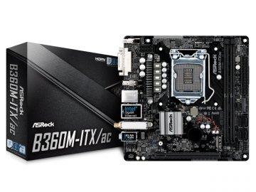 ASRock B360M-ITX/ac 01 PCパーツ マザーボード | メインボード Intel用メインボード