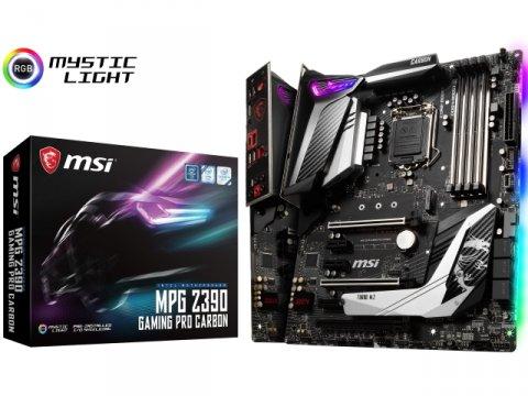 MSI MPG Z390 GAMING PRO CARBON 01 PCパーツ マザーボード | メインボード Intel用メインボード