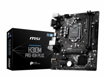 MSI H310M PRO-VDH PLUS 01 PCパーツ マザーボード | メインボード Intel用メインボード