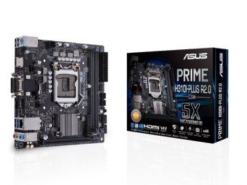 ASUS PRIME H310I-PLUS R2.0/CSM 01 PCパーツ マザーボード | メインボード Intel用メインボード