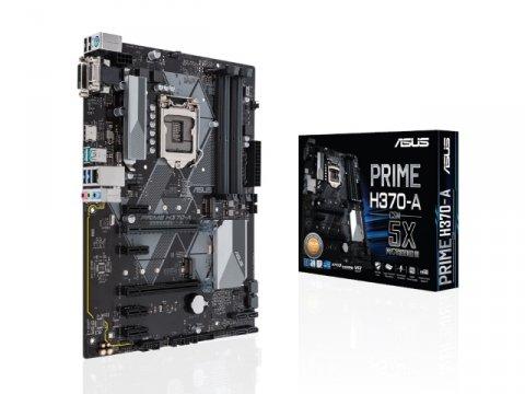 ASUS PRIME H370-A/CSM 01 PCパーツ マザーボード | メインボード Intel用メインボード