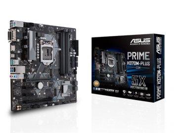 ASUS PRIME H370M-PLUS/CSM 01 PCパーツ マザーボード | メインボード Intel用メインボード