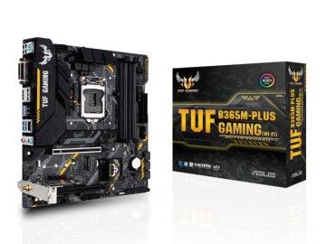 ASUS TUF B365M-PLUS GAMING (WI-FI) 01 PCパーツ マザーボード | メインボード Intel用メインボード
