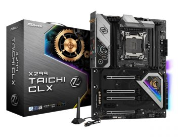 ASRock X299 Taichi CLX 01 PCパーツ マザーボード | メインボード Intel用メインボード