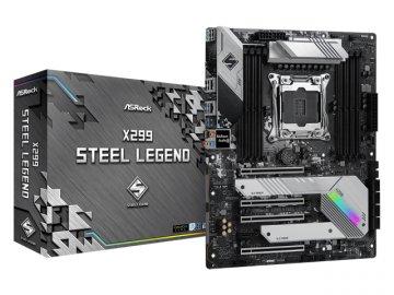 ASRock X299 Steel Legend 01 PCパーツ マザーボード | メインボード Intel用メインボード