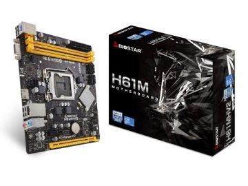 BIOSTAR H61MHV2 01 PCパーツ マザーボード   メインボード Intel用メインボード