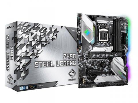 ASRock Z490 Steel Legend 01 PCパーツ マザーボード | メインボード Intel用メインボード