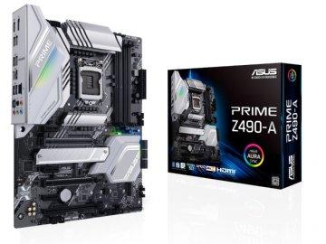 ASUS PRIME Z490-A 01 PCパーツ マザーボード | メインボード Intel用メインボード