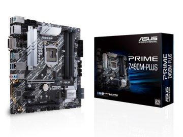 ASUS PRIME Z490M-PLUS 01 PCパーツ マザーボード | メインボード Intel用メインボード