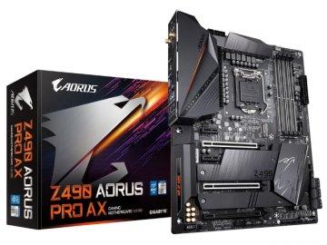 GIGABYTE Z490 AORUS PRO AX rev1.1 01 PCパーツ マザーボード | メインボード Intel用メインボード