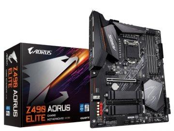 GIGABYTE Z490 AORUS ELITE 01 PCパーツ マザーボード | メインボード Intel用メインボード