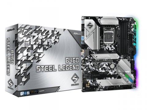 ASRock B460 Steel Legend 01 PCパーツ マザーボード | メインボード Intel用メインボード