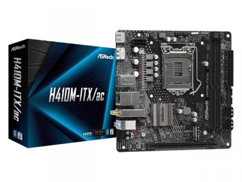ASRock H410M-ITX/ac 01 PCパーツ マザーボード | メインボード Intel用メインボード