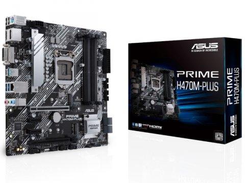 ASUS PRIME H470M-PLUS 01 PCパーツ マザーボード | メインボード Intel用メインボード