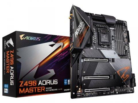 GIGABYTE Z490 AORUS MASTER rev1.1 01 PCパーツ マザーボード | メインボード Intel用メインボード