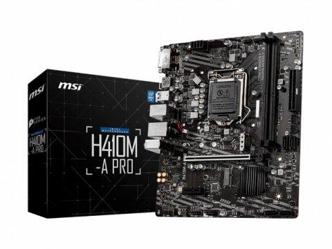 MSI H410M-A PRO 01 PCパーツ マザーボード | メインボード Intel用メインボード