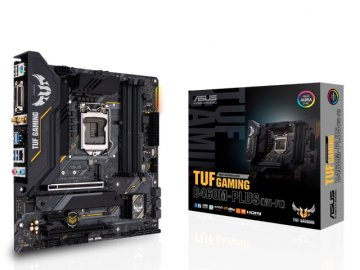 ASUS TUF GAMING B460M-PLUS (WI-FI) 01 PCパーツ マザーボード | メインボード Intel用メインボード