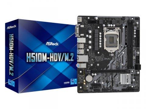 ASRock H510M-HDV/M.2 01 PCパーツ マザーボード | メインボード Intel用メインボード