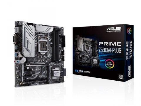 ASUS PRIME Z590M-PLUS 01 PCパーツ マザーボード | メインボード Intel用メインボード