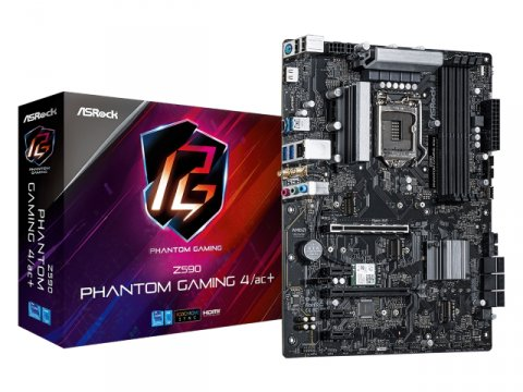 ASRock Z590 Phantom Gaming 4/ac+