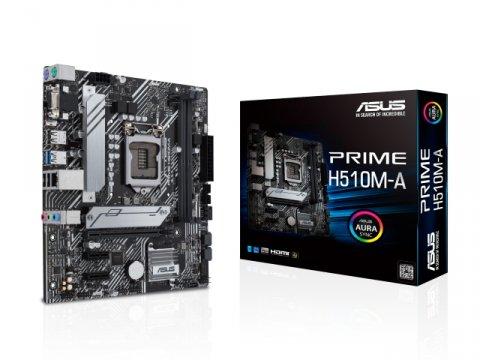 ASUS PRIME H510M-A 01 PCパーツ マザーボード | メインボード Intel用メインボード