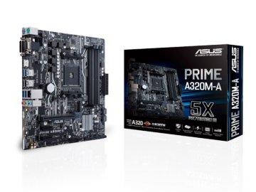 ASUS PRIME A320M-A 01 PCパーツ マザーボード | メインボード AMD用メインボード