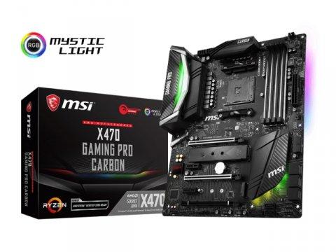 MSI X470 GAMING PRO CARBON 01 PCパーツ マザーボード | メインボード AMD用メインボード
